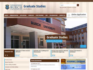 BURCH Graduate Study Unit
