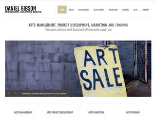 Arts Management, Project Development, Marketing and Funding