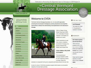 The Central Vermont Dressage Association, Inc.