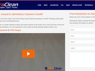 Carpet & Upholstery Cleaning Cardiff - Ultra Clean Services