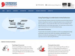 Forensic Psychology Cardiff