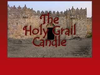 Holy Grail Candle
