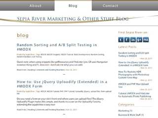 Sepia River Marketing Blog